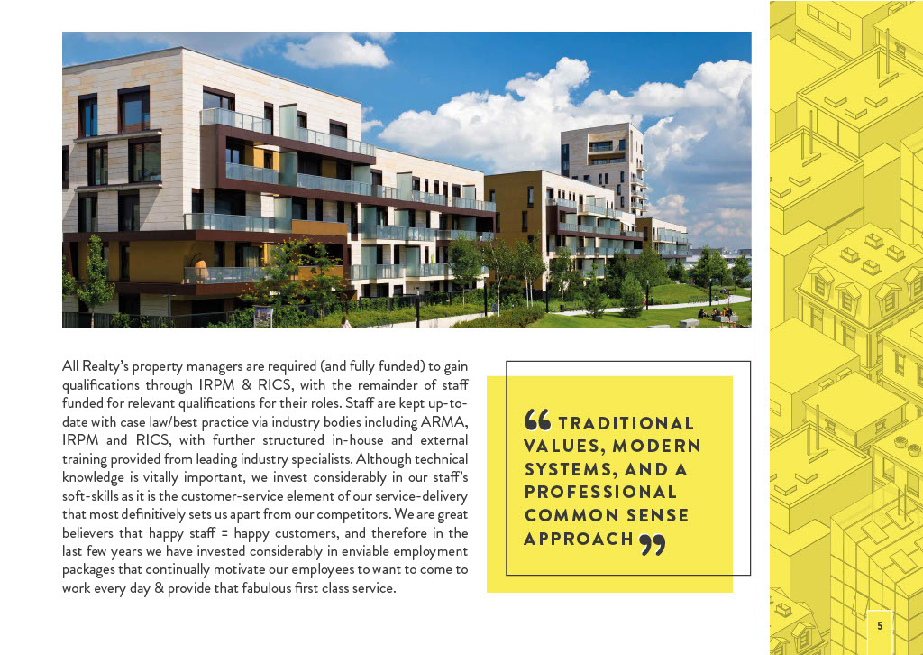 Realty Management's Brochure Page 5