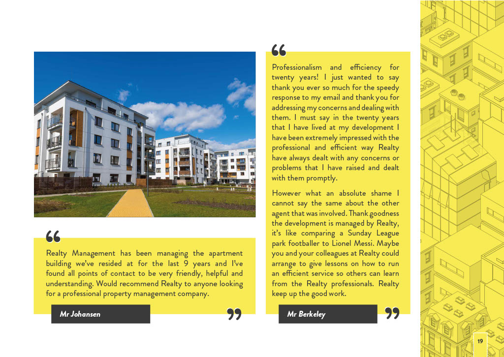 Realty Management's Brochure Page 19